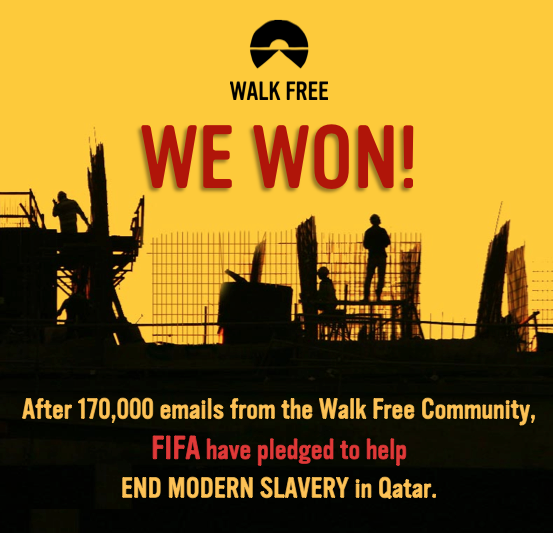 Ending Slavery in Qatar, Thanks to FIFA