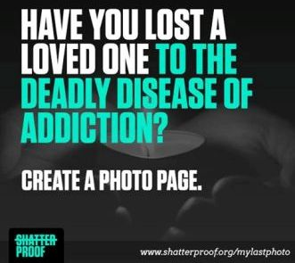 My Last Photo — Photopages of Loved Ones Lost to Addiction