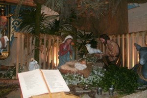 Nativity Scene showing artistic excellence