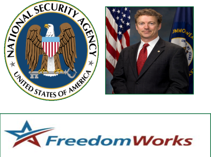 Rand Paul, FreedomWorks Sue Obama Administration over NSA Spying