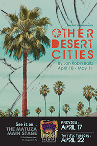 Limelight Theatre Presents 'Other Desert Cities', April 18 – 20