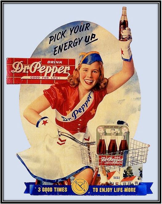 Dr pepper old ad