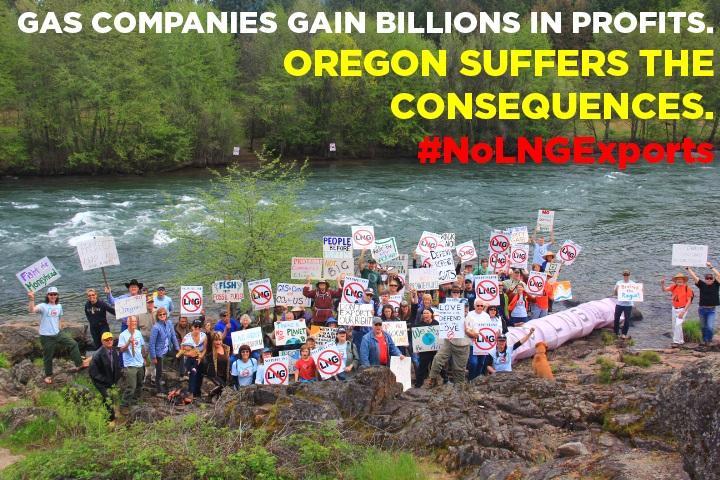 Anti-LNG Rally in Oregon, May 26