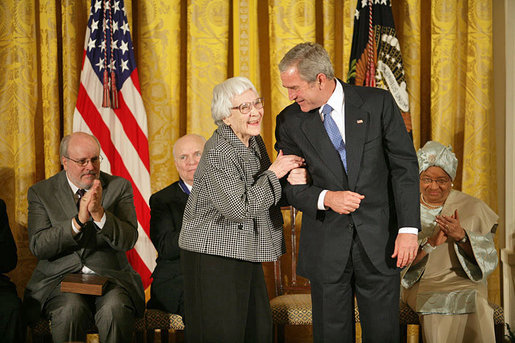 Harper Lee Awarded Presidential Medal in 2007