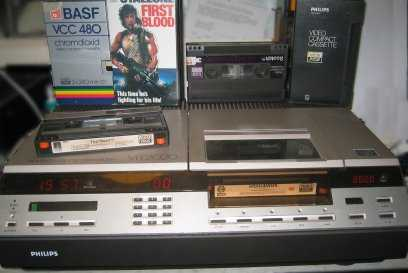 Outliving the Legend: The Demise of the Video Cassette Recorder