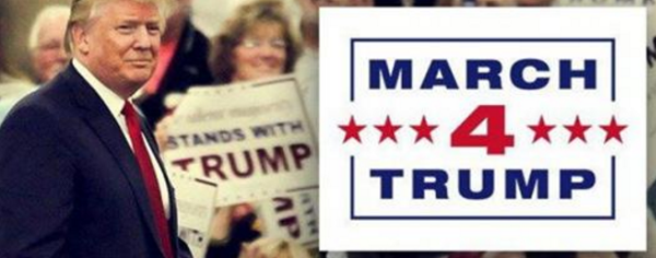 Support President Trump – Nationwide March 4 Trump