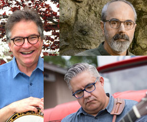 Bill Evans, John Reischman, Kenny Smith & Friends at Palms Playhouse, April 6