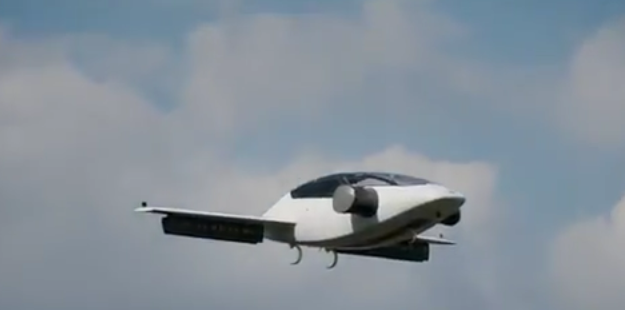 Germany Test-Flies First All-Electric Flying Car