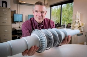 New Turbine Produces Electricity from Carbon Dioxide