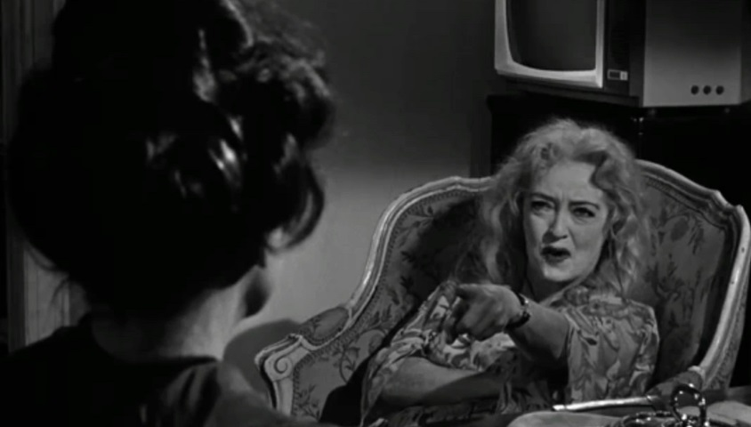 Scene Pick: 'What Ever Happened to Baby Jane?' (1962) – Jane Spying on Blanche