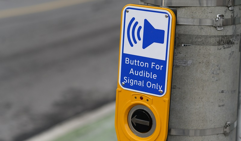Some Audible Traffic Signals Are for the Birds