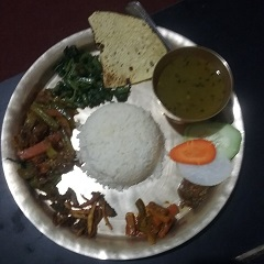 Thali Set – The Vegetarian Visitor's Treat in Nepal