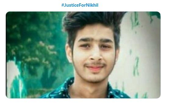 Media's Silence over the Brutal Murder of Teenage Nikhil in Delhi