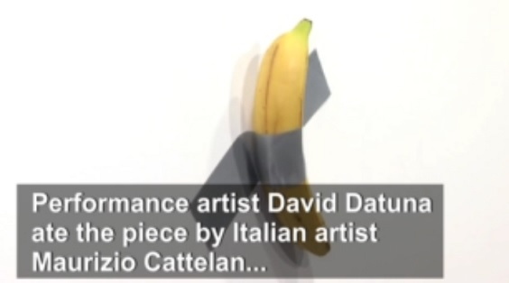 The Banana that Was $120K Worth of Art
