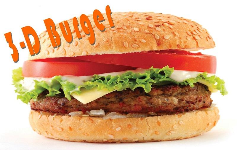 Israeli Restaurants to Create Vegan Burgers via 3D-Printing
