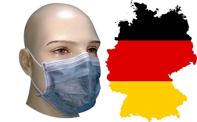 Germany Mandates Wearing Face Mask for Travelers and Shoppers