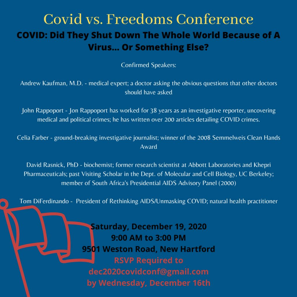 COVID Freedoms Conference