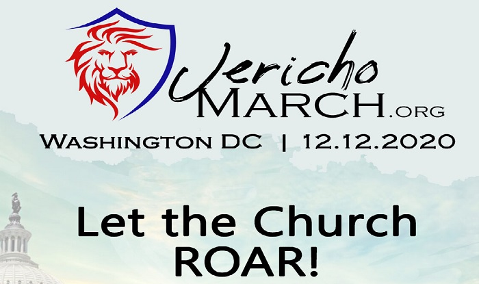 Jericho March against Election Fraud in DC on December 12
