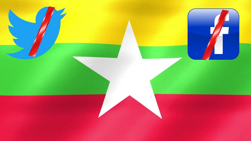 Myanmar Military Orders Twitter Blocked in the Country