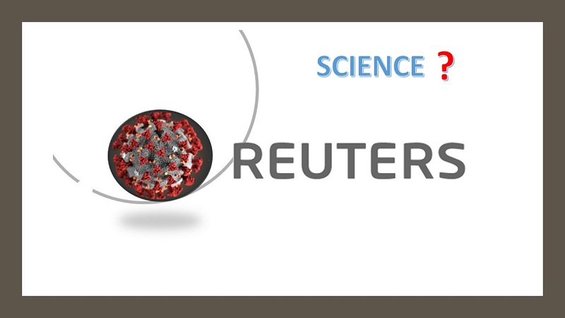 Reuters Advertises the Fake Science of COVID Vaccine Effectiveness
