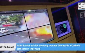 Indonesia church bombing