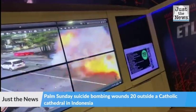 Indonesia: Islamic Terror Attack on Church Injures 20