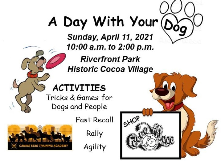 A Day with Your Dog in Cocoa, Florida on April 11