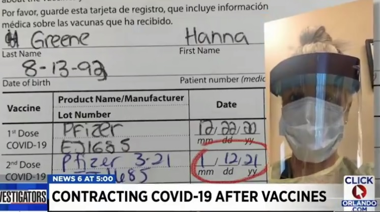 Many Vaccinated People Testing Positive for COVID in FL