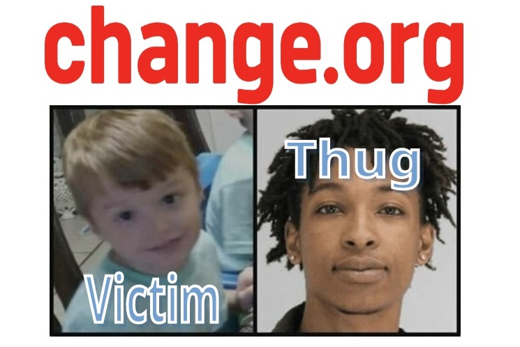 White Child Brutally Murdered by Black Thug Leads to Petition for Justice