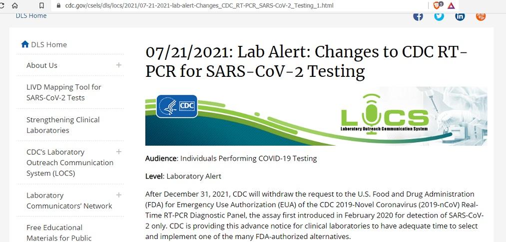 pandemic hoax PCR