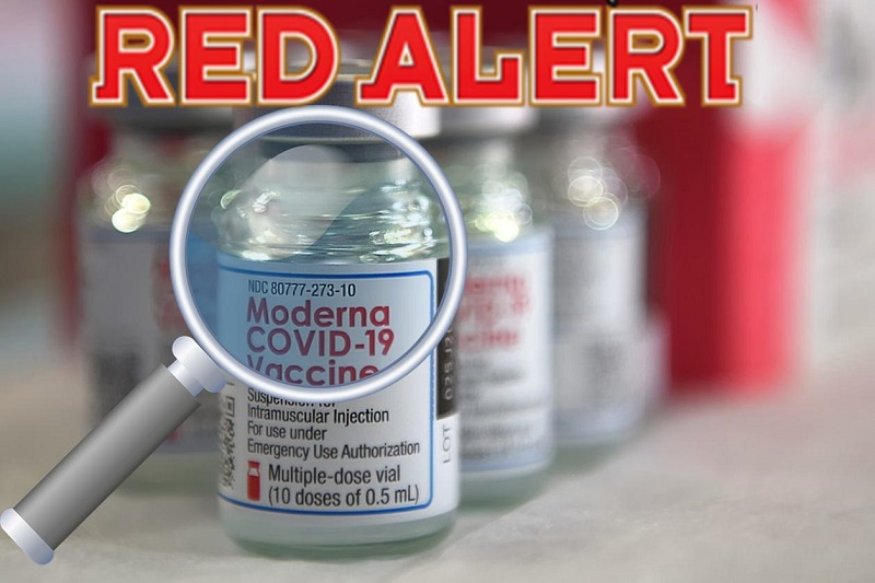 Metal Particles Found in Moderna Vaccine