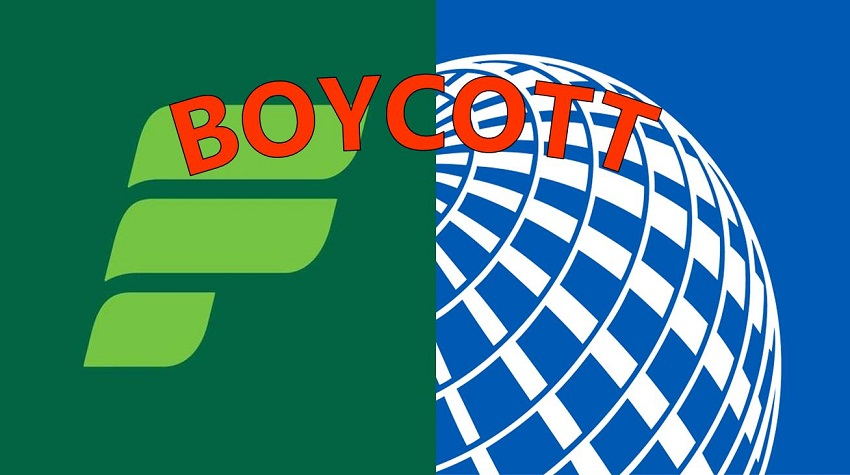 United and Frontier Airlines Violating Human Rights