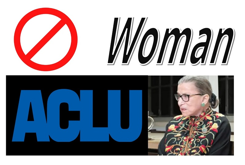 Pro-Women's Rights ACLU Wants to Remove Women