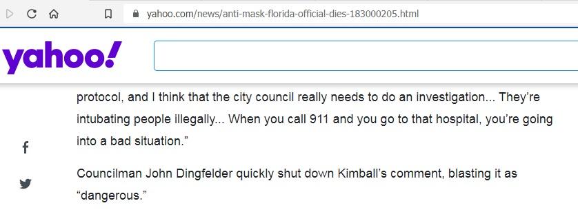 Kimball comment sreenshot