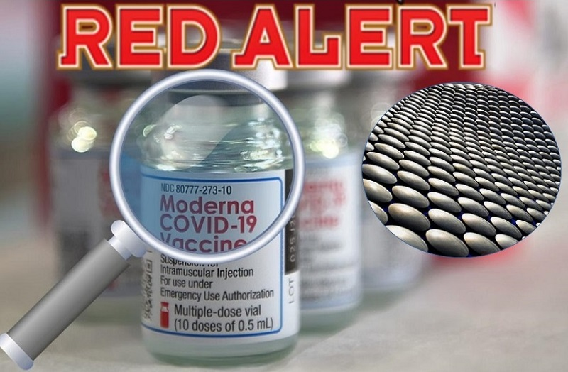 Moderna Vaccine Contaminated with Steel Particles