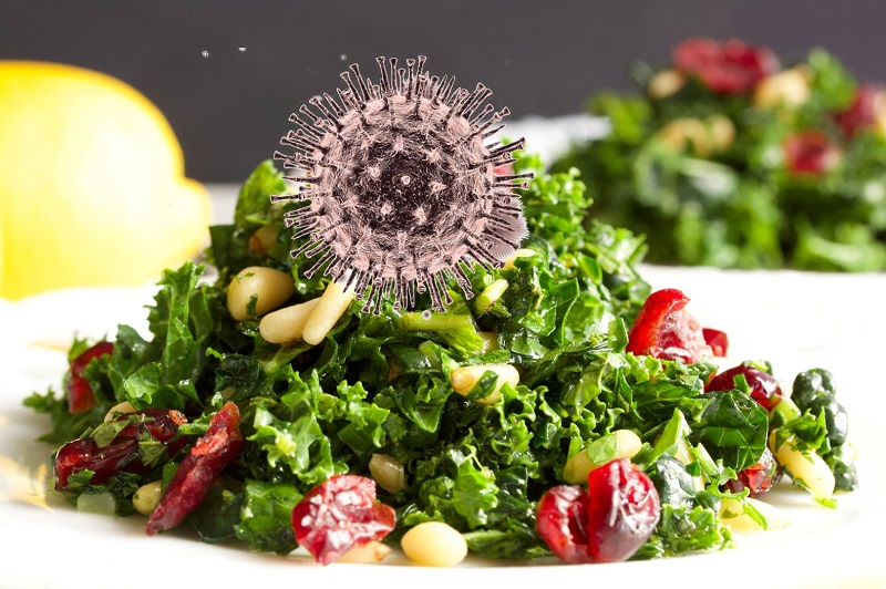 vaccines in salad